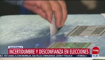 FOTO: Se celebran elecciones presidenciales en Guatemala, 16 Junio 2019