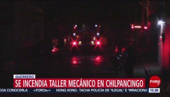 FOTO: Se incendia taller mecánico en Chilpancingo, Guerrero, 23 Junio 2019