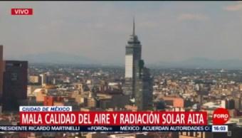 FOTO: Se registra mala calidad del aire en la CDMX, 16 Junio 2019