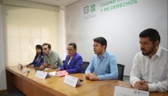 Foto: La secretaria de Gobierno de la Ciudad de México, Rosa Icela Rodríguez Velázquez, asegura que se respetará el derecho de los taxistas de manifestarse, el 2 de junio de 2019 (Twitter @CDMX_Semovi)