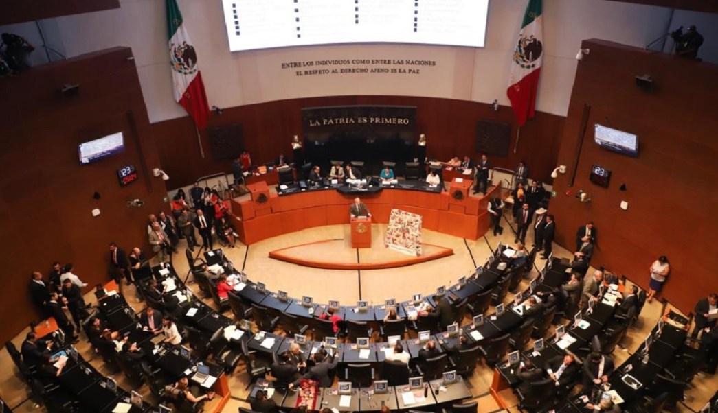Foto: sesión del Senado de la República, 19 de junio 2019. Twitter @CanalCongreso