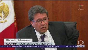 Senador Ricardo Monreal critica a gabinete de AMLO