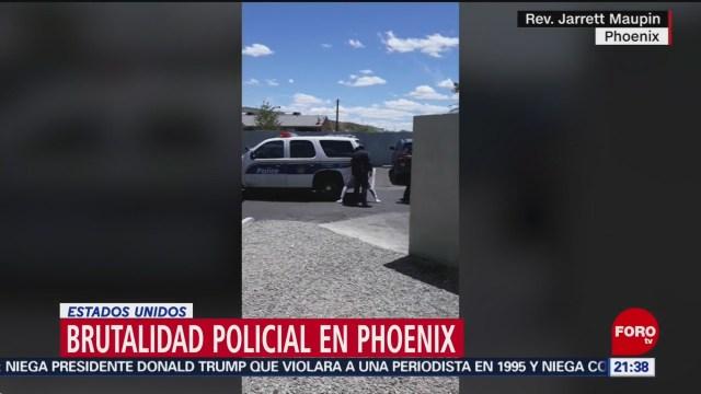 FOTO: Sigue brutalidad policial en Estados Unidos, 23 Junio 2019