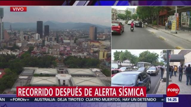 FOTO: Sismo con epicentro en Guerrero se percibió en CDMX