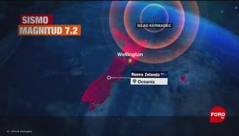 FOTO: Sismo de magnitud 7.2 sacude Nueva Zelanda, 15 Junio 2019