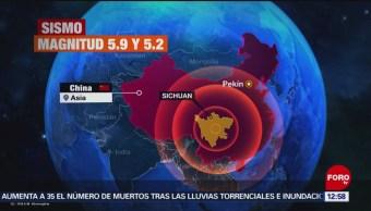 Sismos en China dejan varios muertos