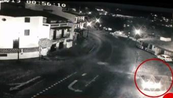 Foto: En Taxco, Guerrero, un automovilista arrojo unos restos humanos 27 junio 2019
