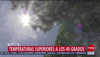 Foto: Temperaturas Calor Clima Yucatán 9 Junio 2019