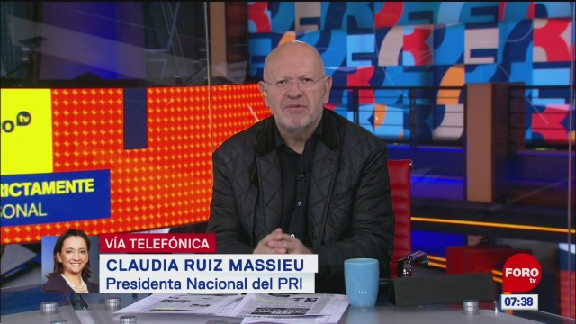 Tenemos que adaptar al PRI a la realidad del país: Ruiz Massieu