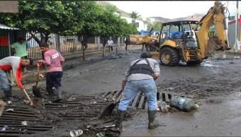 Foto: trabajos de limpieza en Acapulco, 4 de junio 2019. Twitter @AcapulcoGob