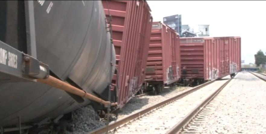 Foto: Descarrilan ocho vagones de un tren en León, 24 de junio 2019. FOROtv