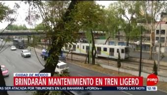 Tren Ligero suspenderá servicio de Taxqueña a Estadio Azteca, el 1 de julio