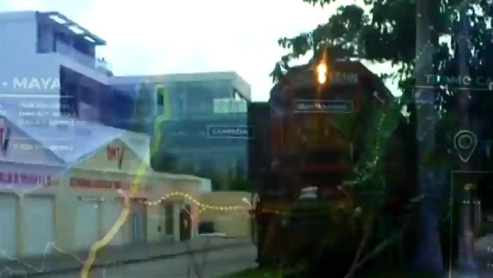 Foto: Tren Maya en el sureste de México