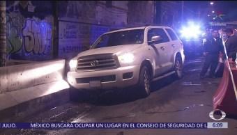 Tres muertos por herida de bala en diferentes puntos de la CDMX