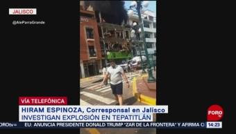 FOTO: Tres muertos tras explotar tanque de gas en Tepatitlán, Jalisco, 15 Junio 2019