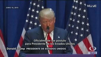 Foto: Trump va por la reelección