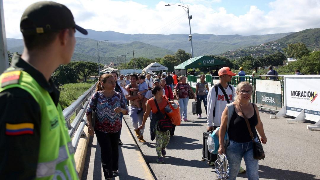 Al menos 18 mil venezolanos ingresan a Colombia tras reapertura de frontera