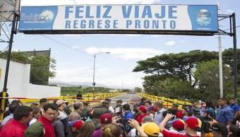 Foto: Reabren principales pasos fronterizos entre Venezuela y Colombia, 8 junio 2019