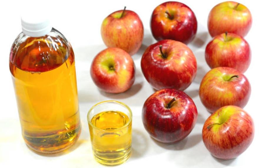 vinagre de manzana en las noches para adelgazar