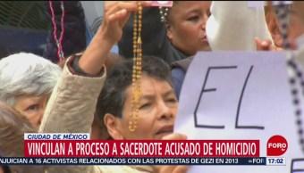 Foto: Vinculan a proceso a sacerdote acusado de homicidio de Leonardo Avendaño