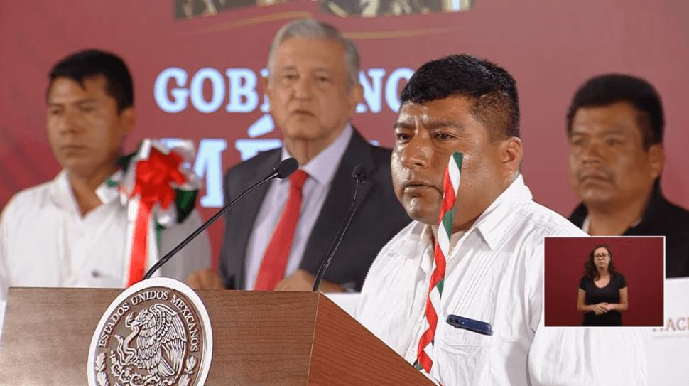 Foto: Adelfo Martínez Estrada, presidente municipal de Santos Reyes Yucuná,17 de junio de 2019, Ciudad de México