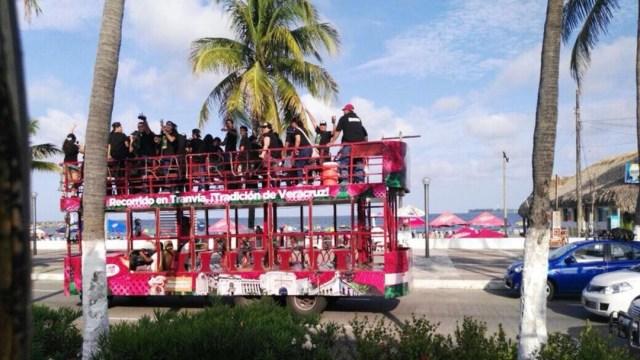 Imagen: El tranvía era turístico, 31 de julio de 2019, (Facebook)
