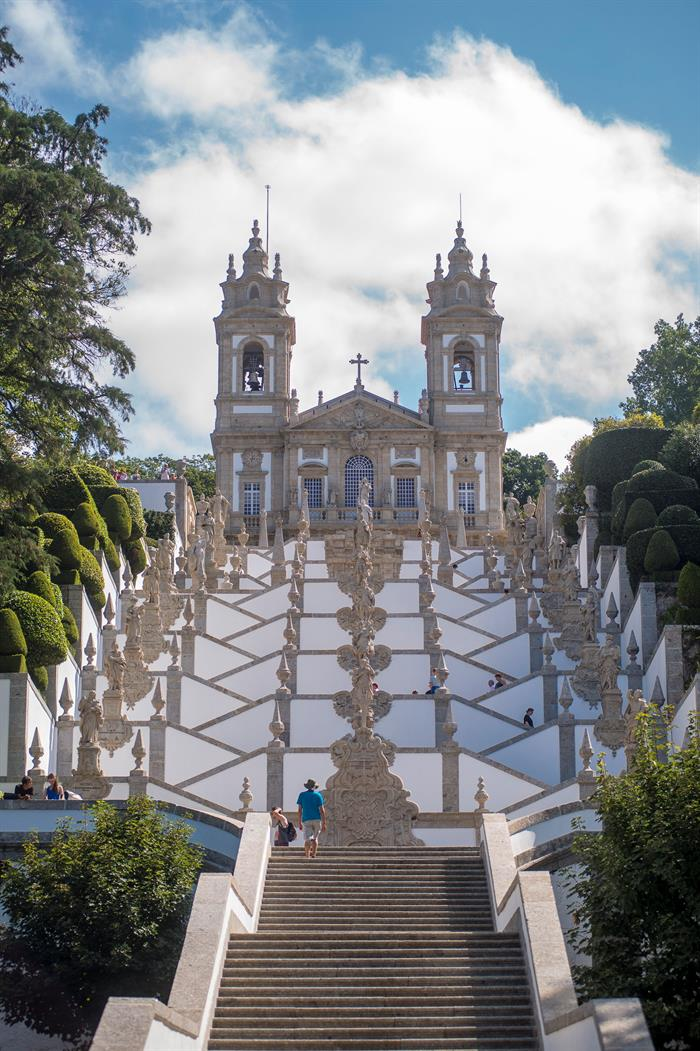 Santuario Bom Jesus do Monte, declarado patrimonio mundial, 7 de julio de 2019 (EFE)