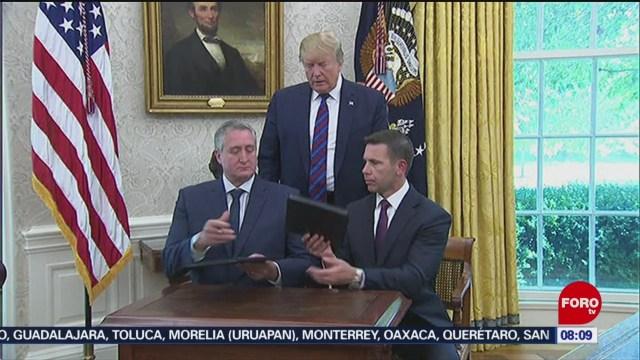 FOTO: Acuerdo migratorio entre Eu y Guatemala, 27 Julio 2019