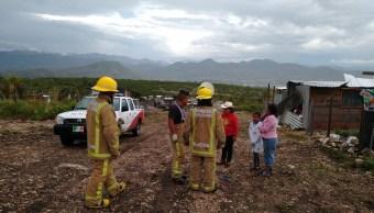 Foto: afectaciones por lluvias en Oaxaca, 2 de julio 2019. Twitter @CEPCO_GobOax