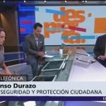 Alfonso Durazo: Vamos avanzando en pláticas con los policías federales que protestan