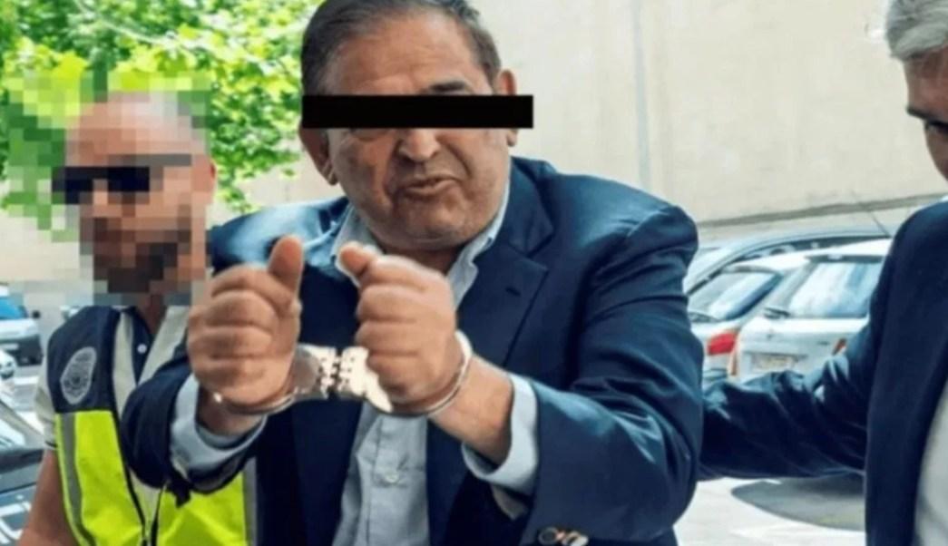 Foto: Alonso Ancira durante su detención en España, 28 de mayo