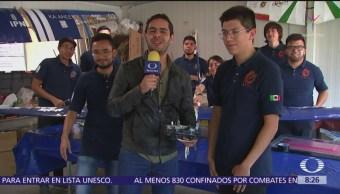 Alumnos ganan por quinta vez competencia de naves no tripuladas