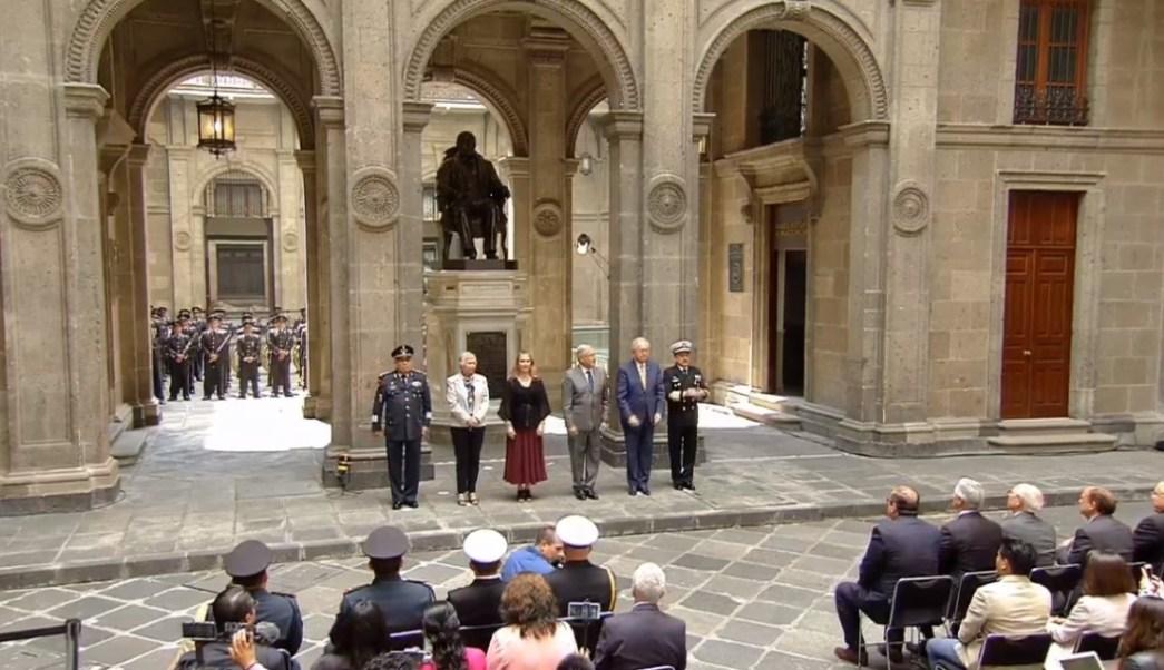 Foto: AMLO preside ceremonia por aniversario luctuoso de Benito Juárez, 18 de julio de 2019, Ciudad de México