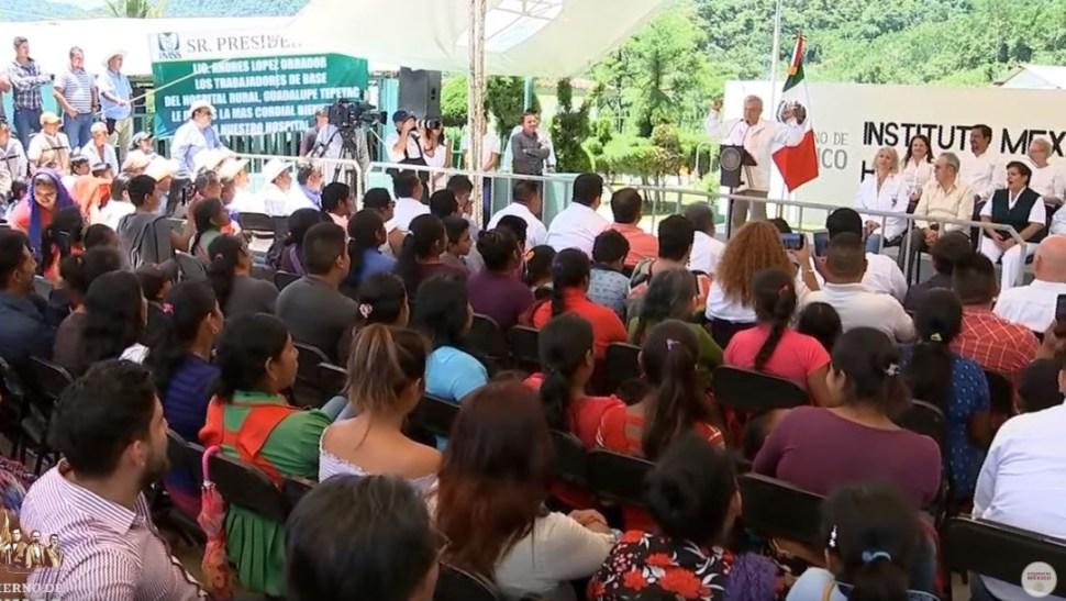 Foto: El presidente Andrés Manuel López Obrador tuvo actividades en el estado de Chiapas, el 6 de julio de 2019 (Gobierno de México YouTube)