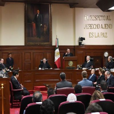 AMLO enviará carta a presidente de SCJN sobre amparos y combate a corrupción