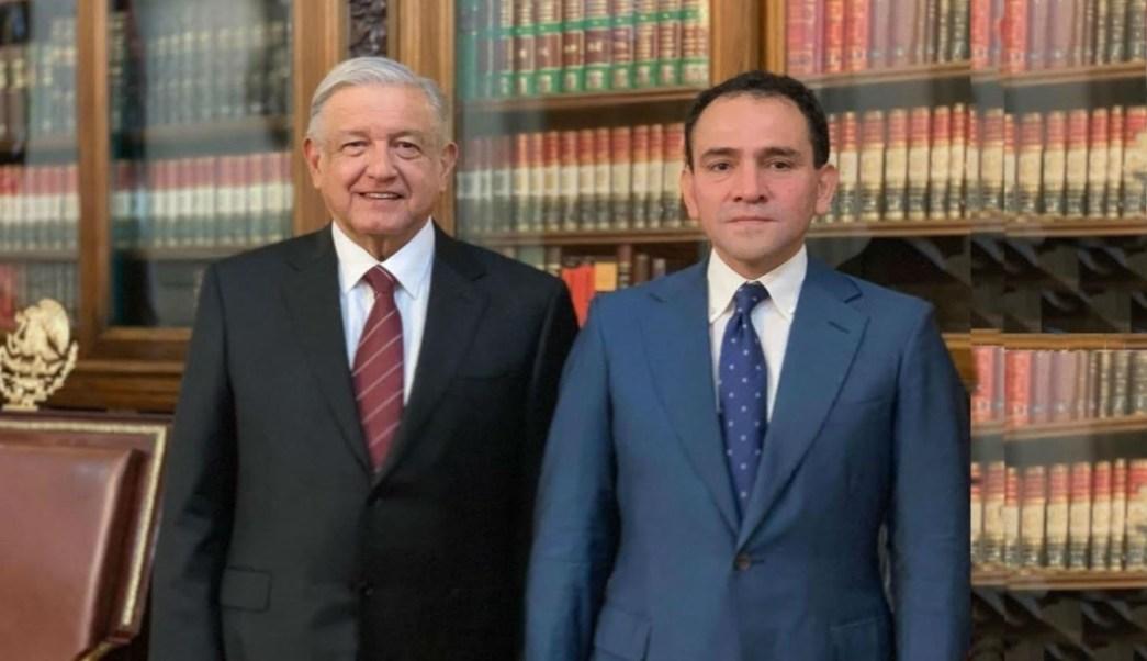 Foto AMLO nombra a Arturo Herrera secretario de Hacienda 9 julio 2019