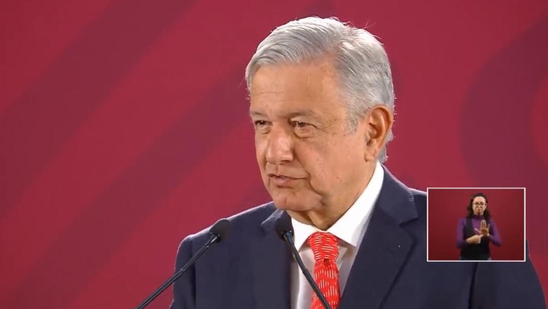 Foto: Andrés Manuel López Obrador en Palacio Nacional, 17 de julio de 2019, Ciudad de México