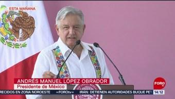 FOTO: AMLO presenta convenio para impulsar la Huasteca Potosina, 20 Julio 2019