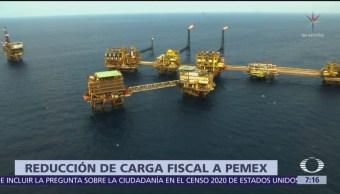 AMLO: Reducción de carga fiscal a Pemex en 2020