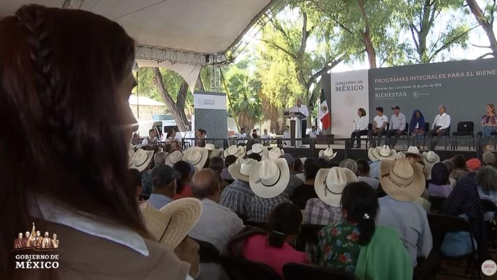 Foto: El presidente Andrés Manuel López Obrador anuncia la conclusión de obras hospitalarias del sexenio pasado, el 19 de julio de 2019 (Gobierno de México)
