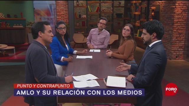 Foto: Amlo Riñe Prensa Acusa No Portarse Bien 23 Julio 2019