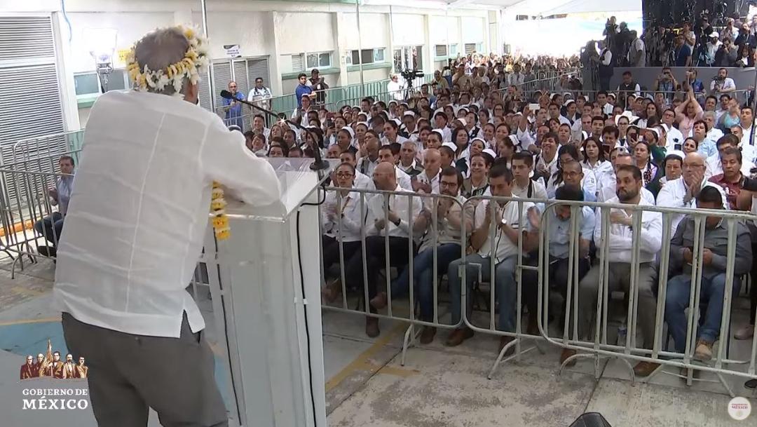 Foto: El presidente Andrés Manuel López Obrador tuvo actividades este domingo en Zongolica, Veracruz, el 28 de julio de 2019 (Gobierno de México YouTube)