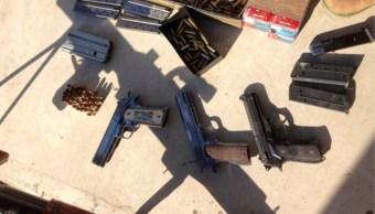 Foto: Armas aseguradas, AP