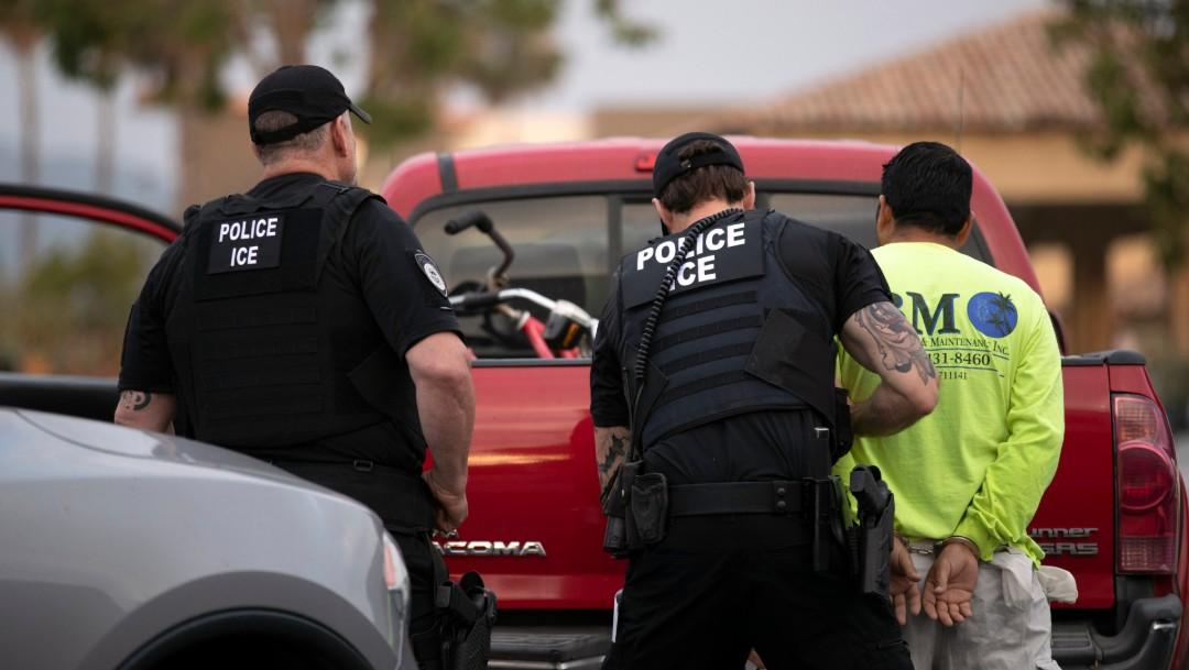 Foto: Arresto de migrante en California, 8 de julio de 2019, Estados Unidos