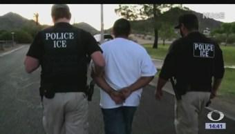 Arrestos de migrantes seguirán esta semana en Estados Unidos