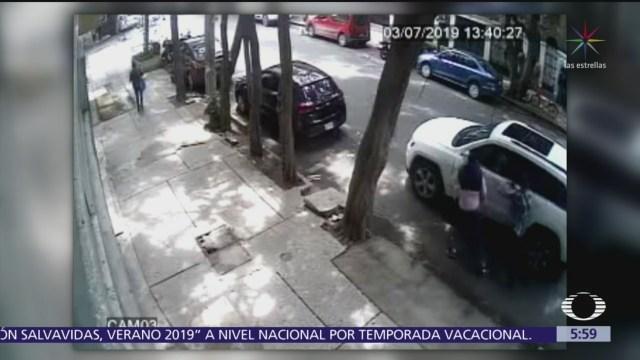 Asaltan a cuentahabiente en la colonia Condesa, CDMX