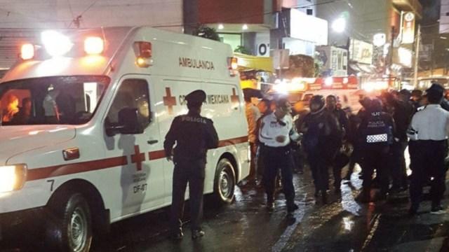 Foto: Un Policía Federal sacó su arma para defenderse de un asalto afuera del Metro Tacuba, 27 julio 2019