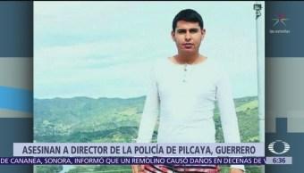 Asesinan a director de la Policía de Pilcaya, en Guerrero
