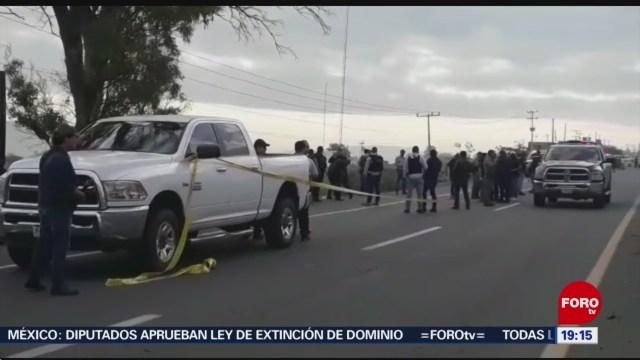 Foto: Elementos De La Fiscalía De Jalisco Fueron Atacados A Disparos En El Municipio De Poncitlán