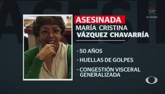 Foto: Asesinan Activista María Cristina Vázquez Chavarría CDMX 2 Julio 2019